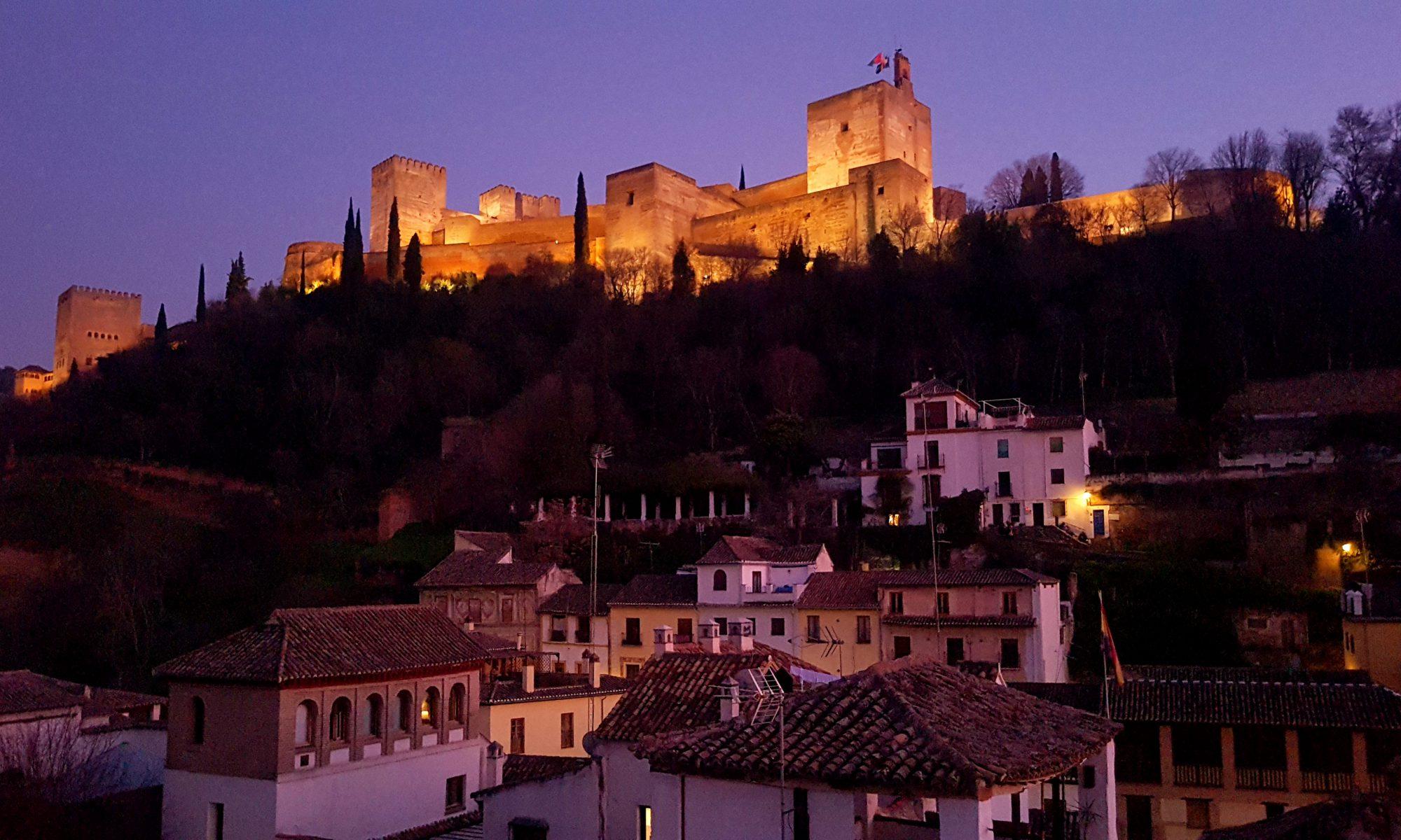 Granada with Alhambra
